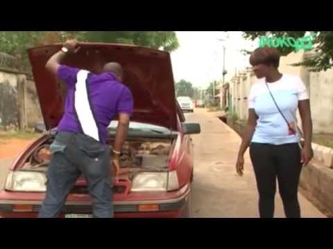 """Hilarious Comedy!! Mercy Johnson Rejects Car Lift – Nigerian Movies In """" World Of Lust"""""""