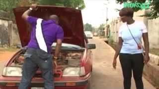 "Hilarious comedy!! mercy johnson rejects car lift - nigerian movies in "" world of lust"""