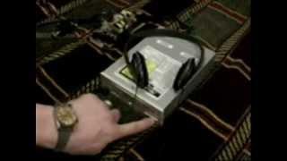 Дисковод від старого комп'ютера.