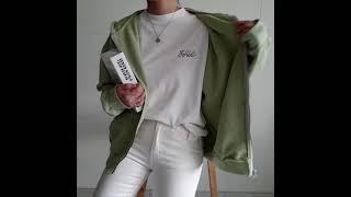 후드데일리홀릭 예쁜색감 루즈핏 후드집업(8컬러)색감