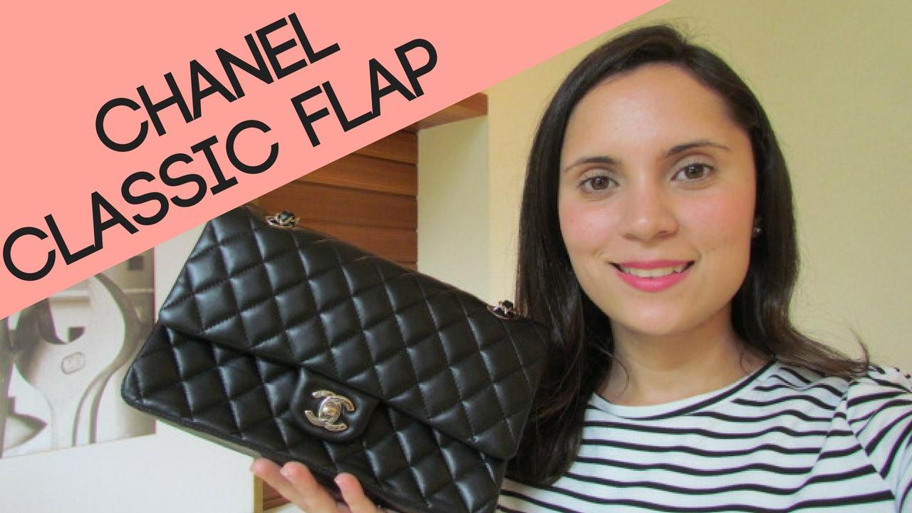 3a8cc32cf0e5a Chanel Classic Flap Original - Como Identificar - YouTube