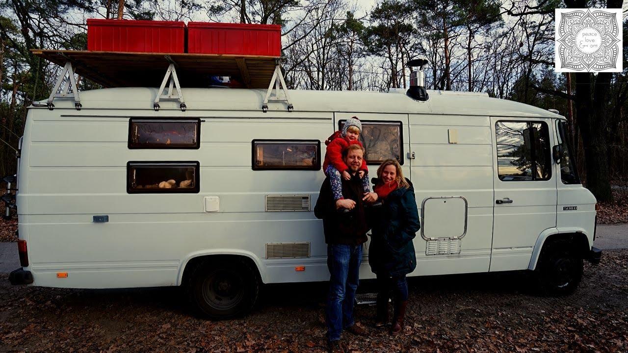 Vintage Camper wird neues Zuhause für Weltreise