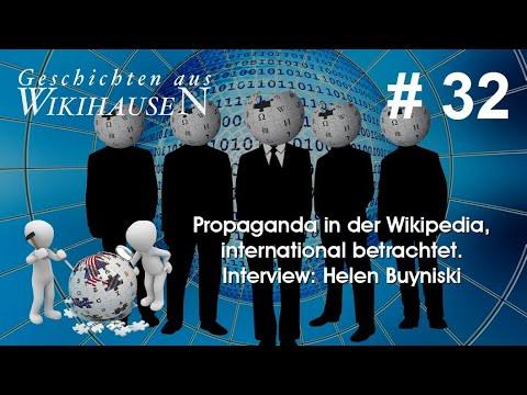 Propaganda in der Wikipedia, international betrachtet - Interview: Helen Buyniski   #32 wikihausen