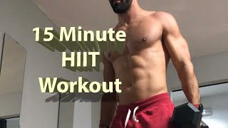 15 Minute HIIT Workout!!!