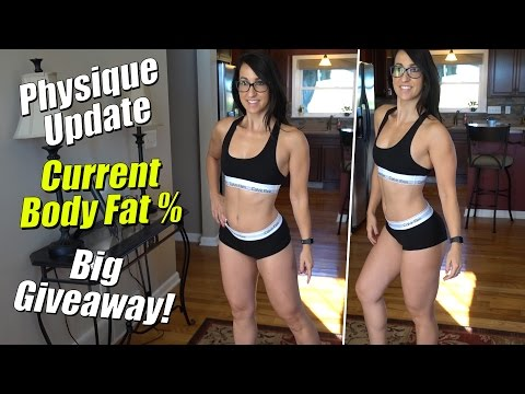 Physique Update - Body Fat % | Fitburn Giveaway!