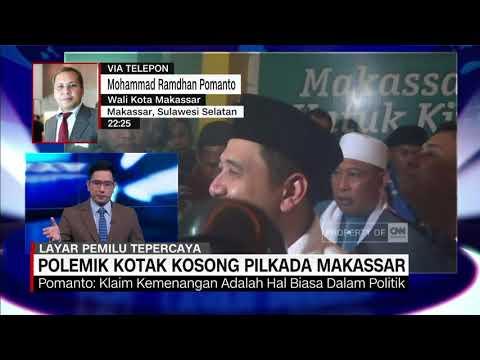 Danny Pomanto Bicara Fenomena Kotak Kosong Di Makassar