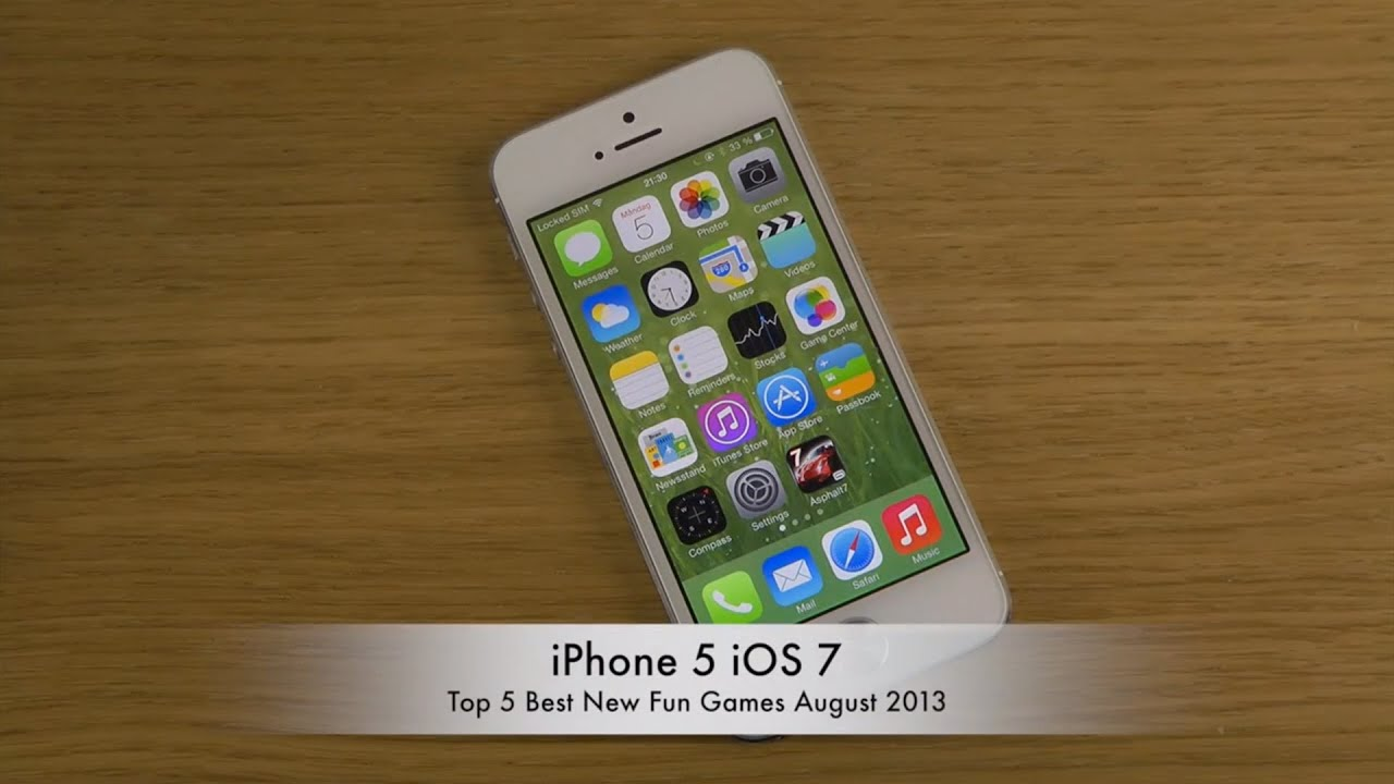 fun games iphone top 5 best new august 2013 iphone 5 ios 7 hd 10673