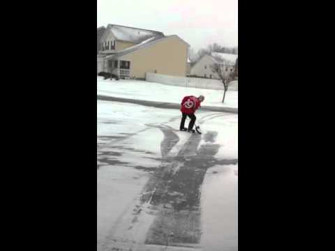 Kat Jackson - Fastest Way to Shovel a Snowy and Ice Covered Driveway