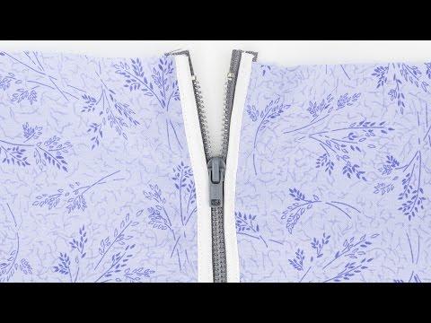 How to Sew a Bias Tape Zipper