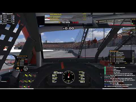 NiS Fixed New Hampshire ISM Connect 150 Week 28 of 36 (Race #1)