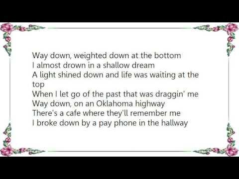 Bobby Pinson - Way Down Lyrics
