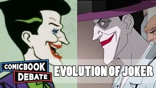 Evolution of Joker in Cartoons in 14 Minutes (2017)