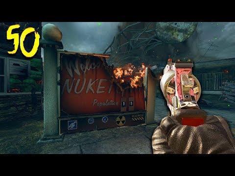 """NUKETOWN ZOMBIES"" ROUND 50 CHALLENGE! (Call of Duty Black Ops 2 Zombies)"