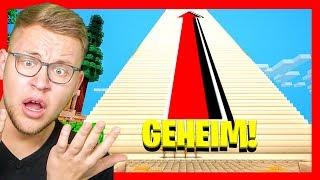 GEHEIME HIMMELS TREPPE GEFUNDEN 😨 (Was ist oben?!)