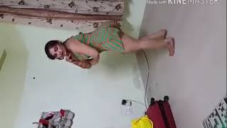 Hot indian anty super hot dance panty show