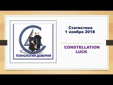 Статистика 1 ноября 2018   CONSTELLATION LUCK