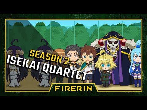Isekai Quartet Season 2 Announcement And Transfer Student Predictions