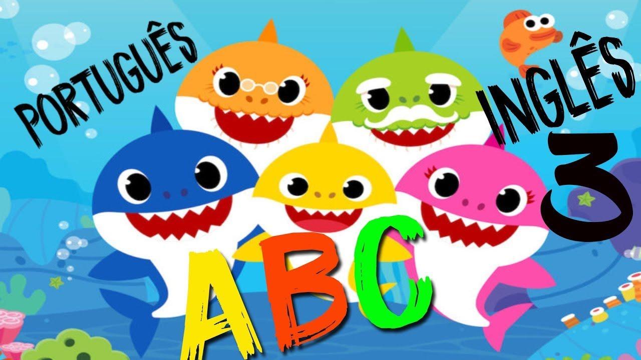 Musica como aprender o alfabeto inglês e a ler português alfabeto infantil kids ABC aprendendo a ler