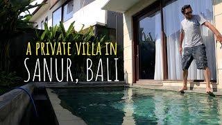 Gambar cover TOUR OF A PRIVATE VILLA IN SANUR, BALI.