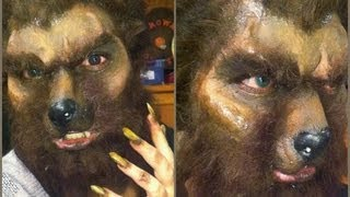 Werewolf Makeup Tutorial - Collab with PinkStylist! Thumbnail