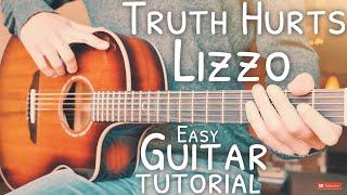 Truth Hurts Lizzo Guitar Tutorial // Truth Hurts Guitar // Guitar Lesson #681