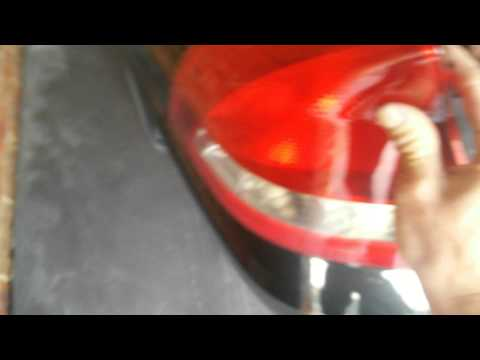 How to change a tail light cover on a vy/vz sedan