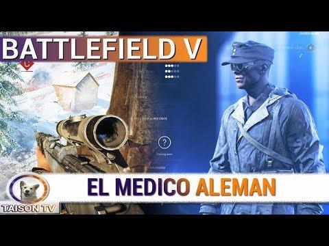 Battlefield V El Medico Armas y Accesorios en Conquista - Alpha Cerrada