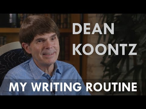 Dean Koontz: On his writing routine & characters   The Silent Corner