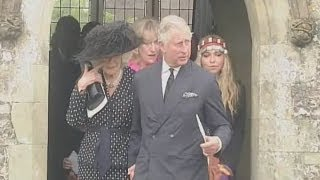 Camilla sheds tears at brother