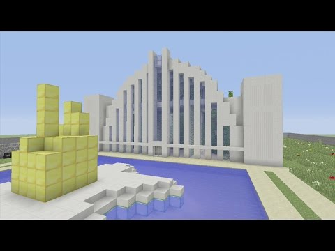 Minecraft Xbox- Murder Mystery- Hall Of Justice