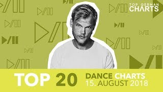 TOP 20 DANCE CHARTS - 15. August 2018