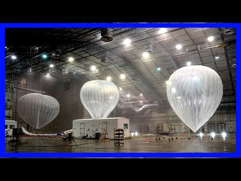 Breaking News   Google's internet-beaming balloons will deliver communications to puerto rico