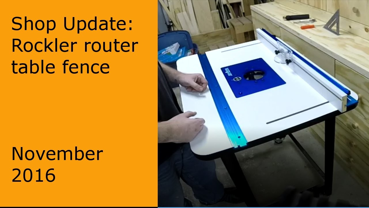Installation of rocker router table fence 58215 youtube installation of rocker router table fence 58215 greentooth Image collections