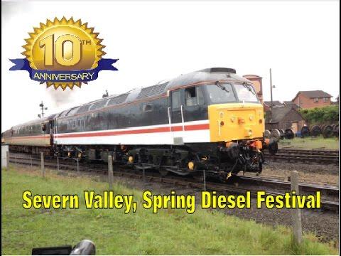 Severn Valley Railway Spring Diesel Festival Friday 19/5/17