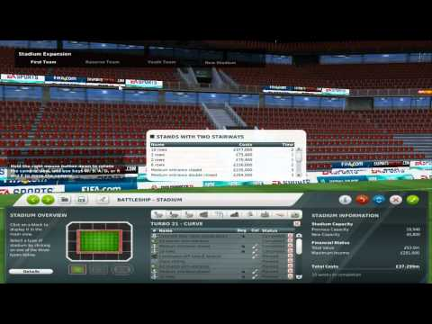 FIFA Manager 12 Stadium Editor