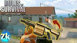 Grenade Launcher + M4A1 / Rules Of Survival: Battle Royal #49
