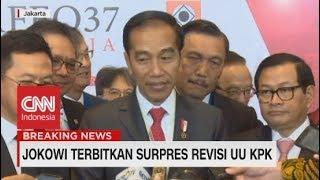 Jokowi Terbitkan Surpres Revisi UU KPK