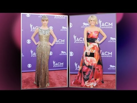 Taylor Swift Fashion at the Academy of Country Music Awards | Fashion Flash