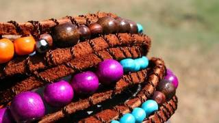 Wrap Bracelet How to - Fashion Week Inspired by Whitney Sews