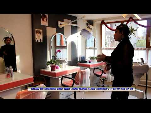 Coiffure 2000 A Bex Chez Anne Marie Youtube
