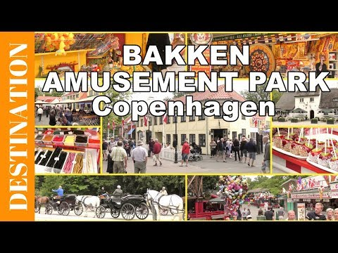 Bakken - World´s Oldest Amusement Park - Dyrehavsbakken - Copenhagen Attractions - Travel Video