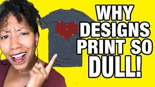 Why Your T-Shirt Designs Print Darker & Duller Than Expected (RGB vs CMYK)