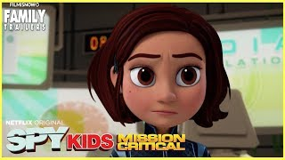 SPY KIDS: MISSION CRITICAL Season 2 Trailer -  Netflix animated spinoff series