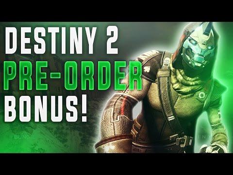 DESTINY 2 PRE-ORDER BONUS LEAKED??  (Destiny 2 Cayde-6 Action Figure Pre-Order Bonus Leak)
