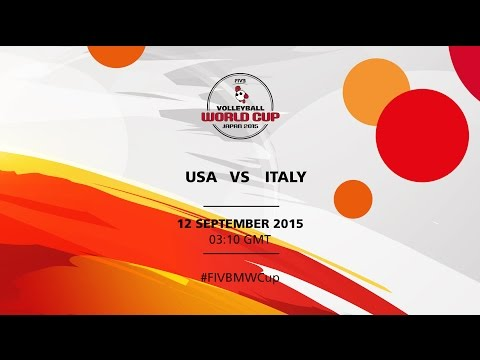 USA v Italy - FIVB Volleyball Men's World Cup Japan 2015