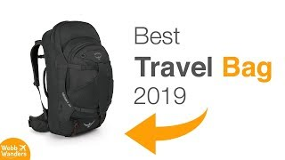 Best Travel Backpack Of 2018