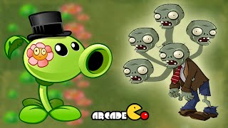 Plants Vs Zombies 2 Dark Ages: Peashooters Extreme Super Challenge August 17 Piñata Party
