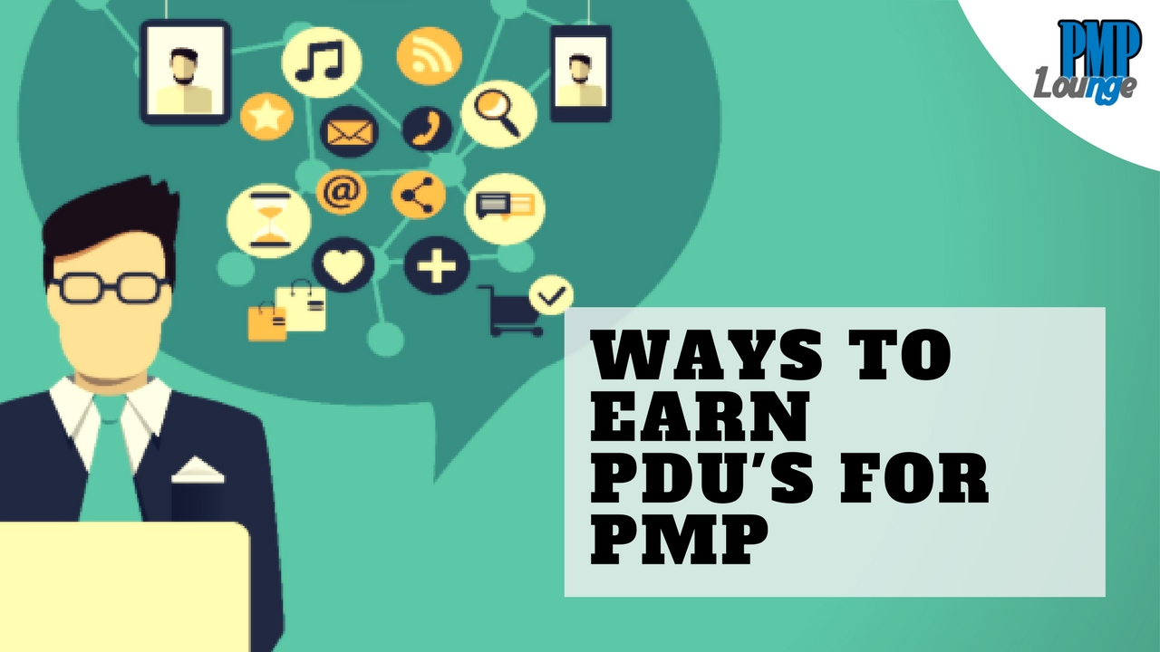 Ways To Earn Pdus For Pmp Youtube