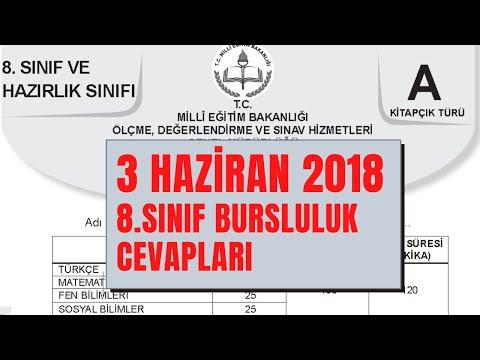 2018 BURSLULUK (PYBS) SINAVI ÇÖZÜMÜ 8.SINIF TÜRKÇE (detaylı)