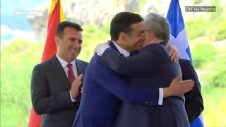 Greece, Macedonia Sign Historic Deal To End Name Dispute